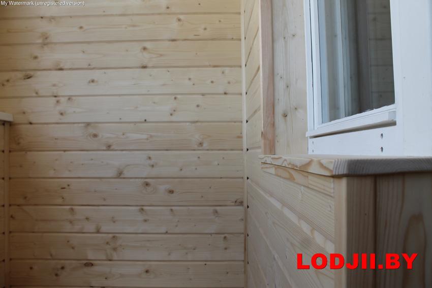 Утепление и отделка балконов, лоджий! объединение с комнатой.