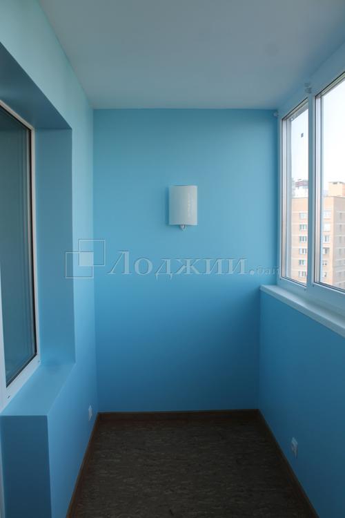 Услуги по отделке лоджий и балконов.