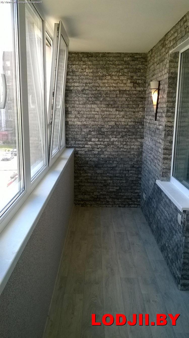 Отделка балкона под ключ ремонт и обшивка балкона.