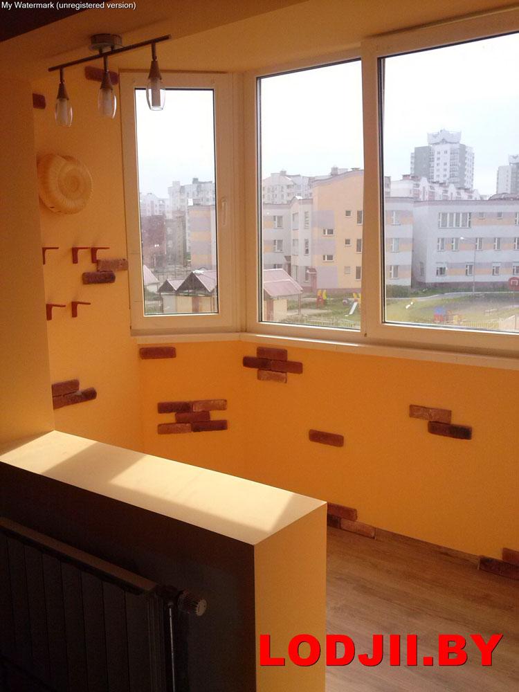 Внутренняя отделка из гипсокартона под ключ.утепление балкон.